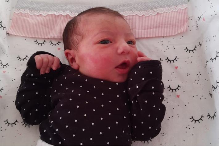 Alice Capelini Tauhyl nasce em Tietê
