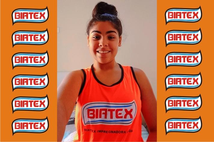 Gabriely sonha em ser uma atleta profissional brasileira