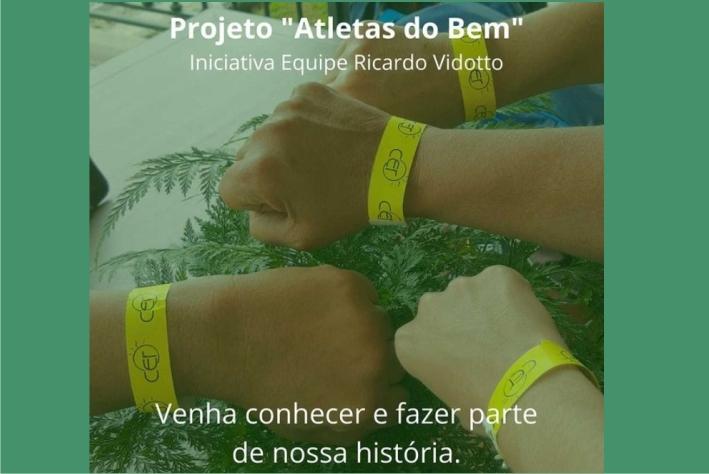 """Projeto """"Atletas do Bem"""" apoia duas iniciativas"""