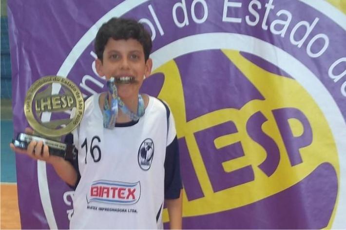 Para Tiago, a emoção de ser campeão lhe marcou